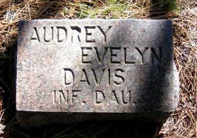 DAVIS, AUDREY EVELYN - Sheridan County, Nebraska   AUDREY EVELYN DAVIS - Nebraska Gravestone Photos