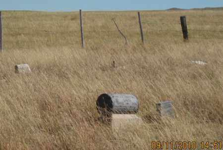 *DAVIS CEMETERY, VIEW OF - Sheridan County, Nebraska | VIEW OF *DAVIS CEMETERY - Nebraska Gravestone Photos