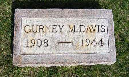 DAVIS, GURNEY M. - Sheridan County, Nebraska | GURNEY M. DAVIS - Nebraska Gravestone Photos