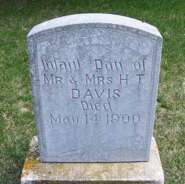 DAVIS, INFANT DAUGHTER - Sheridan County, Nebraska | INFANT DAUGHTER DAVIS - Nebraska Gravestone Photos
