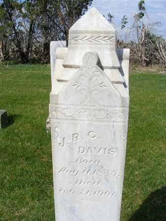 DAVIS, J. R. C. - Sheridan County, Nebraska | J. R. C. DAVIS - Nebraska Gravestone Photos