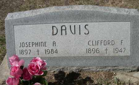 DAVIS, JOSEPHINE A. - Sheridan County, Nebraska | JOSEPHINE A. DAVIS - Nebraska Gravestone Photos
