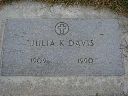 DAVIS, JULIA K. - Sheridan County, Nebraska | JULIA K. DAVIS - Nebraska Gravestone Photos