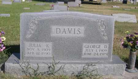 DAVIS, JULIA K. - Sheridan County, Nebraska   JULIA K. DAVIS - Nebraska Gravestone Photos