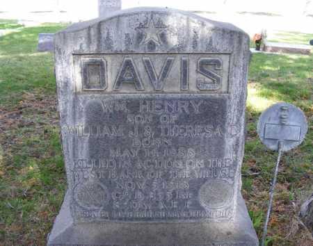DAVIS, WILLIAM HENRY - Sheridan County, Nebraska   WILLIAM HENRY DAVIS - Nebraska Gravestone Photos