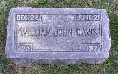 DAVIS, WILLIAM JOHN - Sheridan County, Nebraska | WILLIAM JOHN DAVIS - Nebraska Gravestone Photos