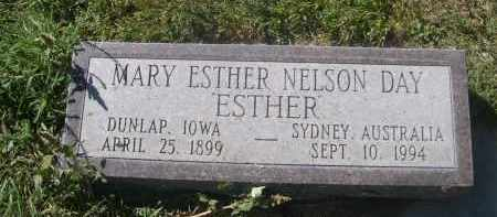 NELSON DAY, MARY ESTHER - Sheridan County, Nebraska | MARY ESTHER NELSON DAY - Nebraska Gravestone Photos