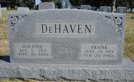 DE HAVEN, MARJORIE - Sheridan County, Nebraska | MARJORIE DE HAVEN - Nebraska Gravestone Photos