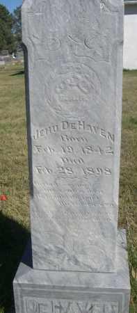 DEHAVEN, JEHU - Sheridan County, Nebraska   JEHU DEHAVEN - Nebraska Gravestone Photos