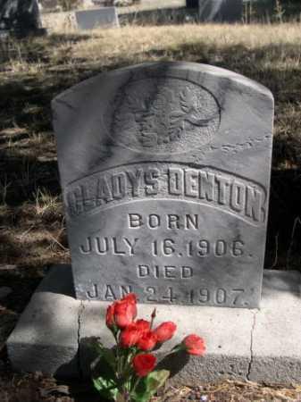 DENTON, GLADYS - Sheridan County, Nebraska | GLADYS DENTON - Nebraska Gravestone Photos
