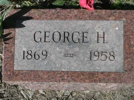 DENTON, GEORGE H. - Sheridan County, Nebraska | GEORGE H. DENTON - Nebraska Gravestone Photos
