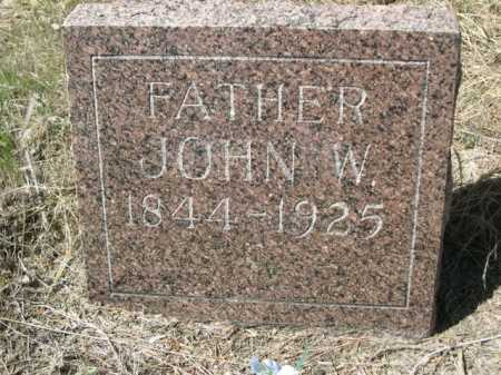 DENTON, JOHN W. - Sheridan County, Nebraska | JOHN W. DENTON - Nebraska Gravestone Photos