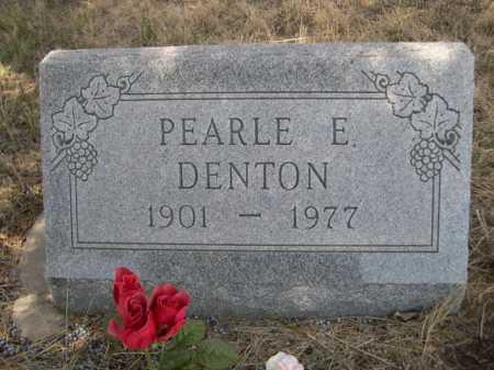 DENTON, PEARLE E. - Sheridan County, Nebraska | PEARLE E. DENTON - Nebraska Gravestone Photos