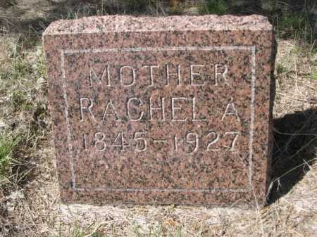 DENTON, RACHEL A. - Sheridan County, Nebraska | RACHEL A. DENTON - Nebraska Gravestone Photos