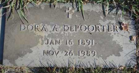 DEPOORTER, DORA A. - Sheridan County, Nebraska | DORA A. DEPOORTER - Nebraska Gravestone Photos