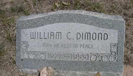 DIAMOND, WILLIAM C. - Sheridan County, Nebraska | WILLIAM C. DIAMOND - Nebraska Gravestone Photos