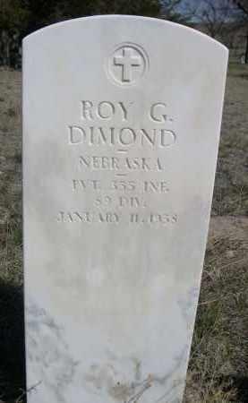 DIAMOND, ROY G. - Sheridan County, Nebraska   ROY G. DIAMOND - Nebraska Gravestone Photos