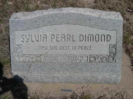 DIAMOND, SYLVIA PEARL - Sheridan County, Nebraska | SYLVIA PEARL DIAMOND - Nebraska Gravestone Photos