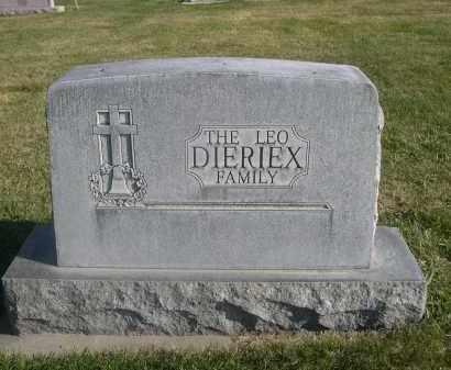 DIERIEX, LEO FAMILY - Sheridan County, Nebraska   LEO FAMILY DIERIEX - Nebraska Gravestone Photos
