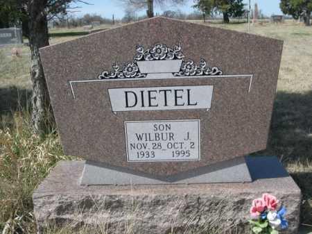 DIETEL, WILBUR J. - Sheridan County, Nebraska | WILBUR J. DIETEL - Nebraska Gravestone Photos