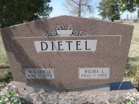 DIETEL, WILMA L. - Sheridan County, Nebraska | WILMA L. DIETEL - Nebraska Gravestone Photos