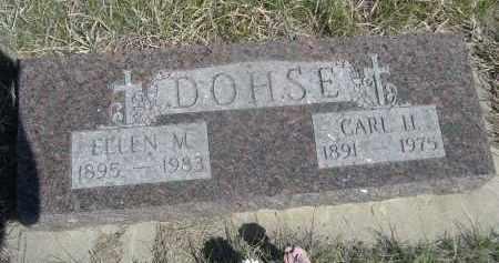 DOHSE, ELLEN M. - Sheridan County, Nebraska | ELLEN M. DOHSE - Nebraska Gravestone Photos