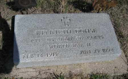 DOHSE, KENNETH - Sheridan County, Nebraska | KENNETH DOHSE - Nebraska Gravestone Photos