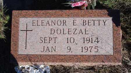 DOLEZAL, ELEANOR E. 'BETTY' - Sheridan County, Nebraska | ELEANOR E. 'BETTY' DOLEZAL - Nebraska Gravestone Photos