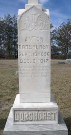 DORSHORST, ANTON - Sheridan County, Nebraska | ANTON DORSHORST - Nebraska Gravestone Photos