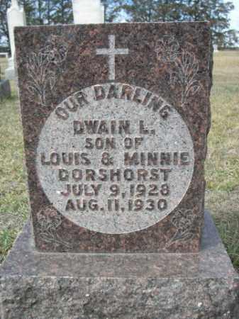 DORSHORST, DWAIN L. - Sheridan County, Nebraska | DWAIN L. DORSHORST - Nebraska Gravestone Photos