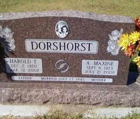 DORSHORST, A. MAXINE - Sheridan County, Nebraska | A. MAXINE DORSHORST - Nebraska Gravestone Photos