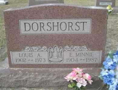 DORSHORST, LOUIS A. - Sheridan County, Nebraska   LOUIS A. DORSHORST - Nebraska Gravestone Photos