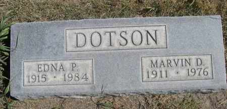 DOTSON, EDNA P. - Sheridan County, Nebraska   EDNA P. DOTSON - Nebraska Gravestone Photos