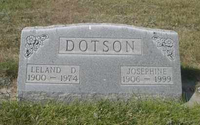 DOTSON, JOSEPHINE - Sheridan County, Nebraska | JOSEPHINE DOTSON - Nebraska Gravestone Photos