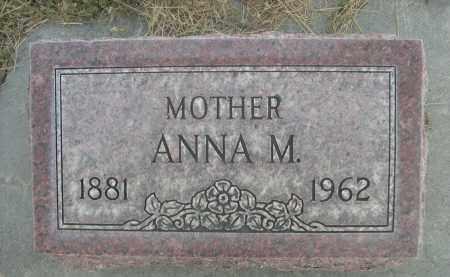 DRAMSE, ANNA M. - Sheridan County, Nebraska | ANNA M. DRAMSE - Nebraska Gravestone Photos