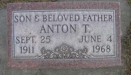 DRAMSE, ANTON T. - Sheridan County, Nebraska   ANTON T. DRAMSE - Nebraska Gravestone Photos