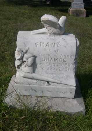 DRAMSE, FRANK - Sheridan County, Nebraska | FRANK DRAMSE - Nebraska Gravestone Photos