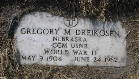 DREIKOSEN, GREGORY M. - Sheridan County, Nebraska | GREGORY M. DREIKOSEN - Nebraska Gravestone Photos