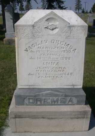 DREMSA, ANNA - Sheridan County, Nebraska | ANNA DREMSA - Nebraska Gravestone Photos