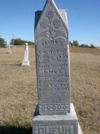 DUFUR, LAURA C. - Sheridan County, Nebraska | LAURA C. DUFUR - Nebraska Gravestone Photos