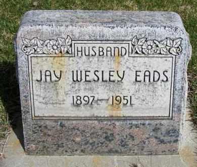 EADS, JAY WESLEY - Sheridan County, Nebraska | JAY WESLEY EADS - Nebraska Gravestone Photos