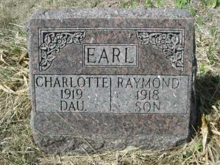 EARL, CHARLOTTE - Sheridan County, Nebraska | CHARLOTTE EARL - Nebraska Gravestone Photos