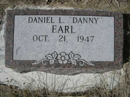 "EARL, DANIEL L. ""DANNY"" - Sheridan County, Nebraska | DANIEL L. ""DANNY"" EARL - Nebraska Gravestone Photos"
