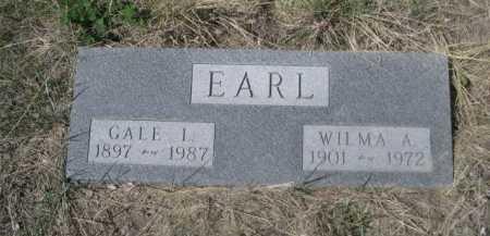 EARL, GALE I. - Sheridan County, Nebraska | GALE I. EARL - Nebraska Gravestone Photos