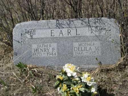 EARL, HENRY P. - Sheridan County, Nebraska   HENRY P. EARL - Nebraska Gravestone Photos