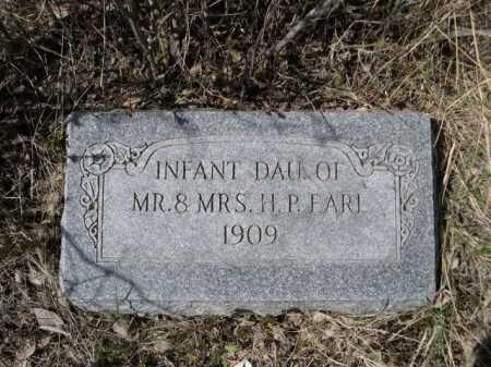 EARL, INFANT DAU. OF MR. & MRS. H.P. - Sheridan County, Nebraska | INFANT DAU. OF MR. & MRS. H.P. EARL - Nebraska Gravestone Photos