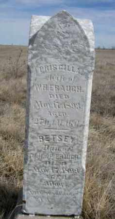 EBAUGH, BETSEY - Sheridan County, Nebraska   BETSEY EBAUGH - Nebraska Gravestone Photos