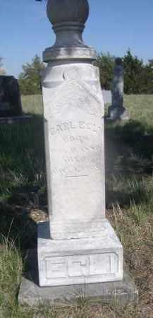 EGLI, CARL - Sheridan County, Nebraska | CARL EGLI - Nebraska Gravestone Photos