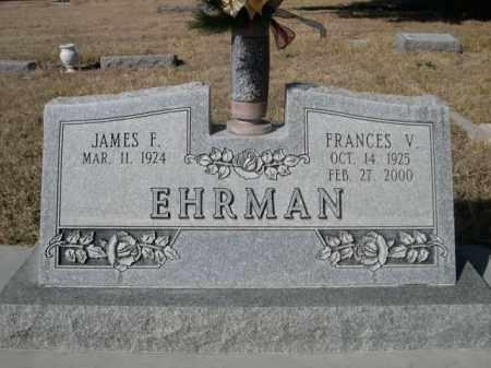 EHRMAN, JAMES F. - Sheridan County, Nebraska | JAMES F. EHRMAN - Nebraska Gravestone Photos