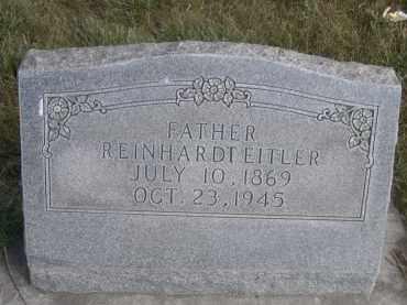 EITLER, REINHARDT - Sheridan County, Nebraska | REINHARDT EITLER - Nebraska Gravestone Photos